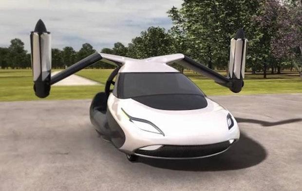 نخستین خودروی پرنده دنیا به مرحله پیشفروش رسید