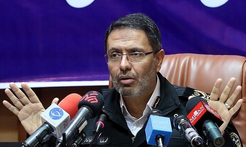 رییس پلیس راهور تهران