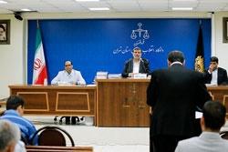 گزارش جلسه رسیدگی به اتهامات حمید باقری | اظهارات متهم، نماینده دادستان و قاضی