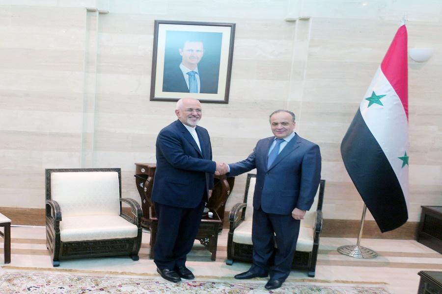 دیدار ظریف با نخست وزیر سوریه | آماده همکاری اقتصادی با دمشق هستیم