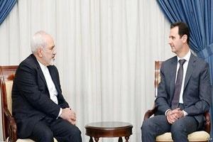 دیدار ظریف و بشار اسد | تاکید ایران و سوریه بر توسعه همکاریها در دوران بازسازی