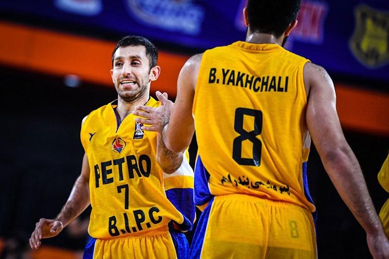 بسکتبال باشگاههای آسیا؛ صعود پتروشیمی به نیمه نهایی