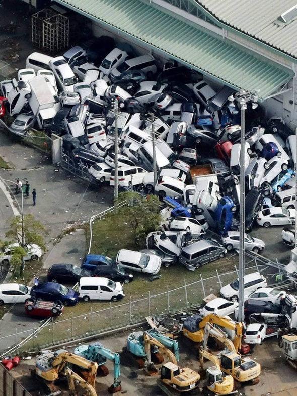 طوفان سهمگین جبی در ژاپن دستکم ۱۰ کشته برجای گذاشت