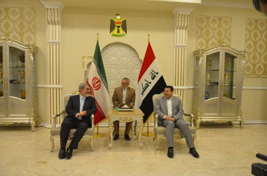 سفر وزیر کشور به عراق