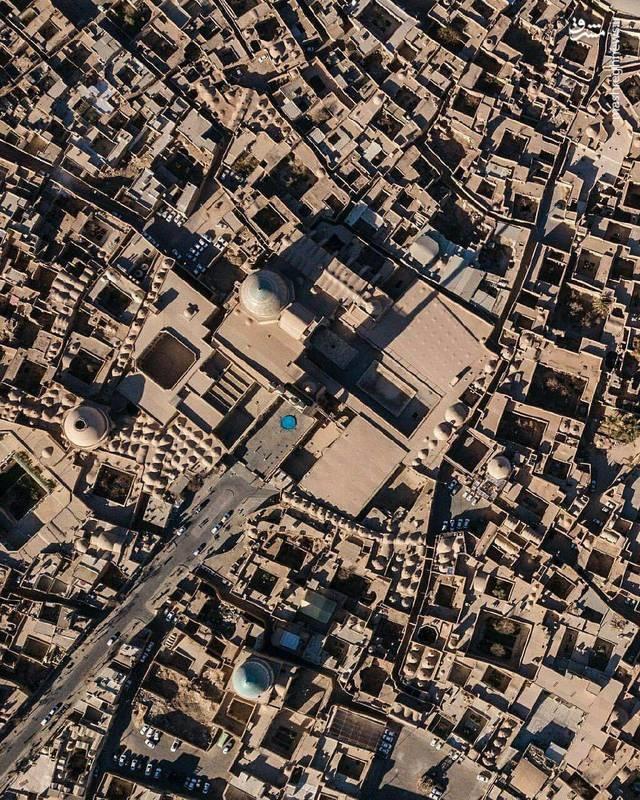 یزد؛ دومین شهر تاریخی جهان را از بالا ببینید