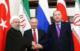 روسای جمهوری روسیه و ترکیه وارد تهران شدند