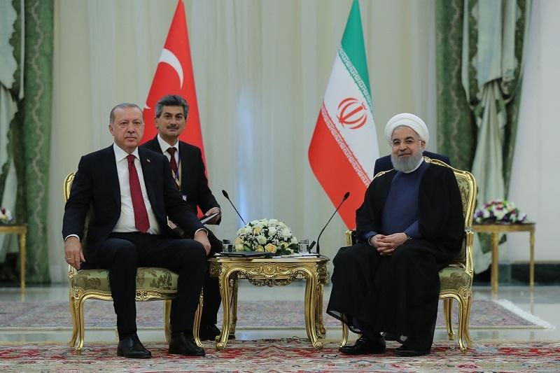 روسای جمهوری ایران و ترکیه دیدار کردند