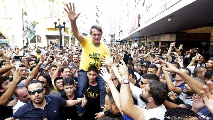 حمله با چاقو به نامزد پیشتاز ریاست جمهوری برزیل