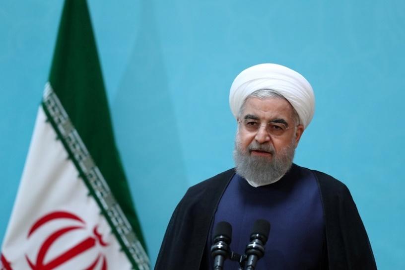 سخنان روحانی در نشست سه جانبه تهران   دخالت غیرقانونی آمریکا در سوریه باید فورا پایان یابد