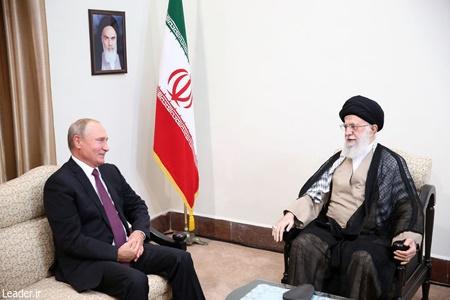 دیدار ولادیمیر پوتین رییس جمهور روسیه