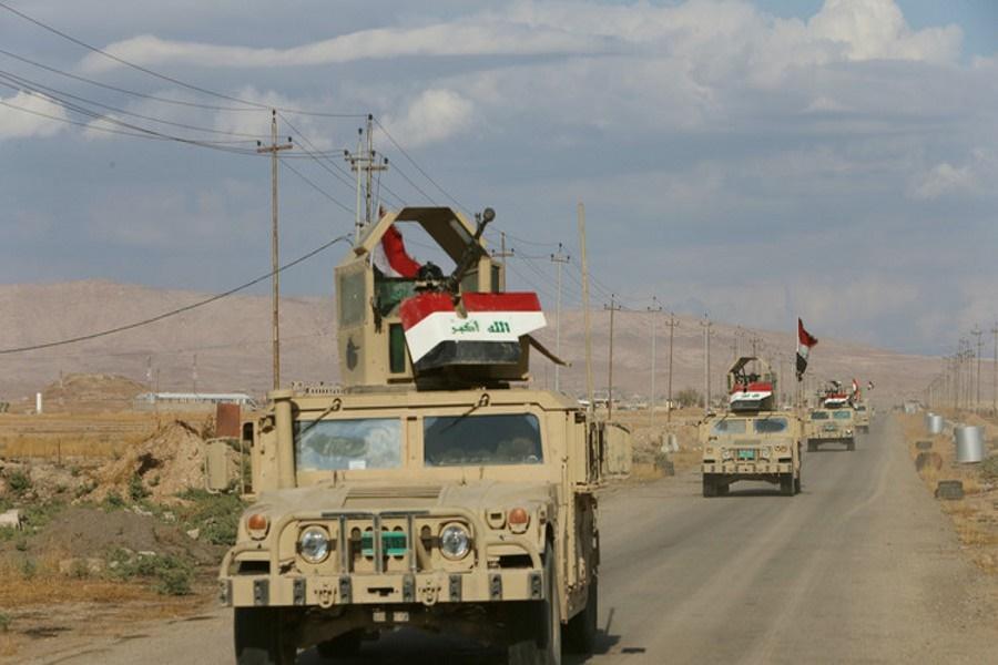 الحشد الشعبی تعقیب عناصر داعش را در شمال بغداد آغاز کرد