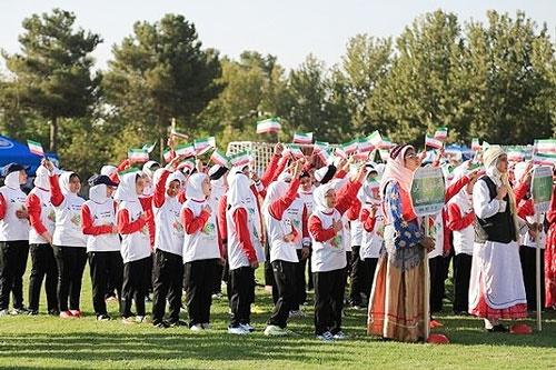 فستیوال ملی فوتبال دختران افتتاح شد
