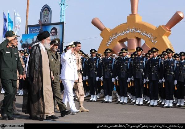 حضور و سخنرانی فرمانده کل قوا در دانشگاه علوم دریایی امام خمینی(ره) نوشهر
