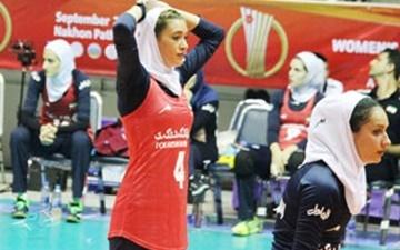 مونا آشفته؛ امتیازآورترین بازیکن ایران در دیدار مقابل استرالیا