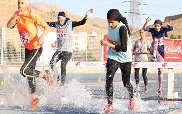 دانشگاه آزاد قهرمان مرحله نخست دو و میدانی بانوان قهرمانی باشگاههای کشور شد