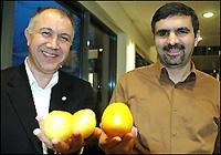 محمد طاهرزاده - سمت راست