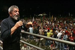 لولا در میتینگ سیاسی 28 سپتامبر