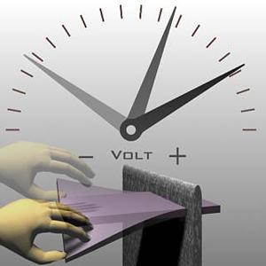 اثر پیزوالکتریک- فشار الکتریسیته ایجاد میکند
