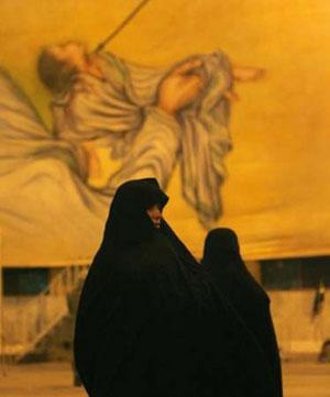 زنان عزادار در کربلا - علی جاسم /رویترز