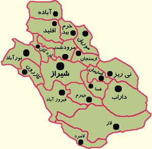 از تقسیمات جدید مناطق استان فارس چه خبر؟!