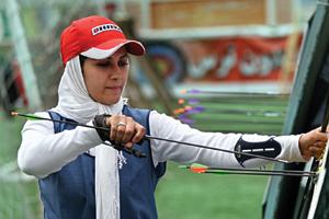 عکسها: جواد منتظری- اکرم شعبانی نفر چهارم مسابقات جهانی کره جنوبی که میخواهد