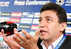 امیر قلعهنویی در کنفرانس مطبوعاتی پیش از بازی با ازبکستان