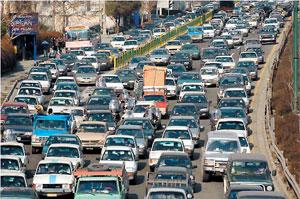 ترافیک شهر تهران