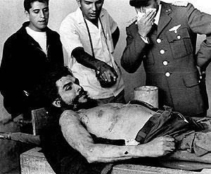 ال چه گوارا پس از اعدام