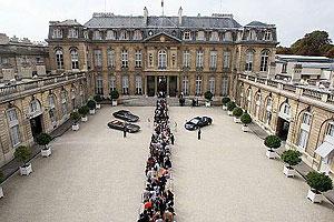 کاخ الیزه محل سکونت روءسای جمهوری فرانسه