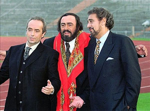 jose carreras-luciano pavarotii-placido domingo