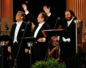 placido domingo-jose carrearas-luciano pavarotti