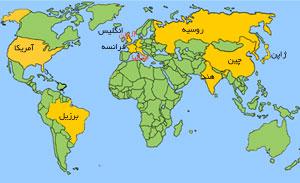 کشورهایی که از نظر تیراژ روزنامه جزو 10 کشور اول هستند