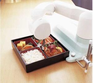 بازوی روباتی برای کمک کردن به سالمندان برای غذاخوردن