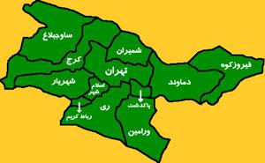 پارچه مازراتی پلی استر دار نقشه شهرستان ملارد