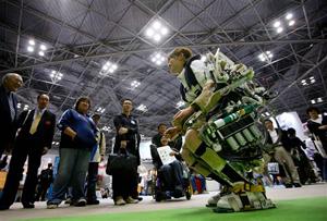 لباس روباتی برای پرستاران  افراد سالمند