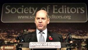 Jonathan Evans, the head of Britain's MI5 intelligence agency