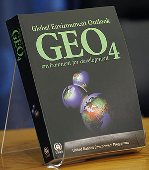 The fourth Global Environment Outlook: environment for development (GEO-4)