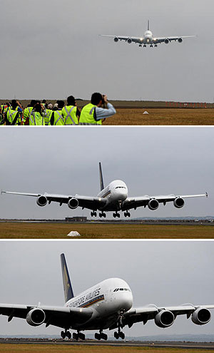The Singapore Airlines A380