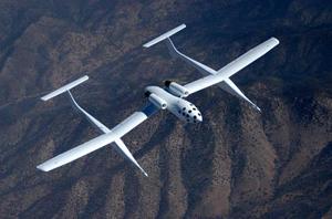 کشتی فضایی یک سوار بر هواپیمای حامل