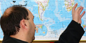 دکتر عرب احمدی در مؤسسه مطالعات آمریکای شمالی و اروپای دانشگاه تهران