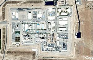 تصویر ماهواره ای از راکتور اراک