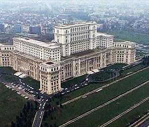 Romania's Parliament building