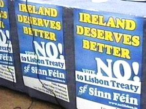 Sinn Féin Urging rural Ireland to vote no