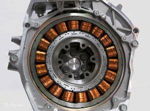 موتور الکتریکی در هوندا سیویک هیبرید
