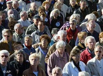 پیری جمعیت، مشکل بخشهای وسیعی از اروپاست