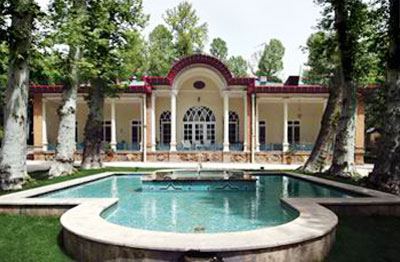 Iranian gardens - bagh-e Farmani-e