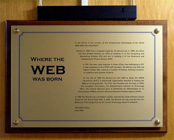 جایی که وب متولد شد