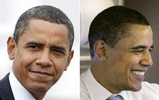"""""""When I started this campaign, everybody called me a young man -- they're not calling me that anymore,"""" said Obama (AP)"""