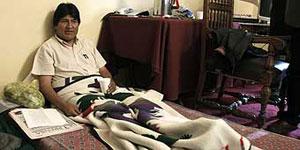 اوو مورالس در دومین روز اعتصاب غذا