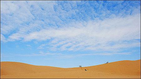 عکس آسمان کویر